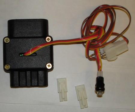 Модуль управления педалью газа