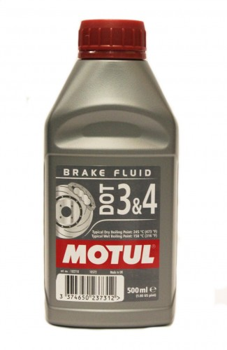 Motul DOT 3 & 4 Brake Fluid (500 мл.)